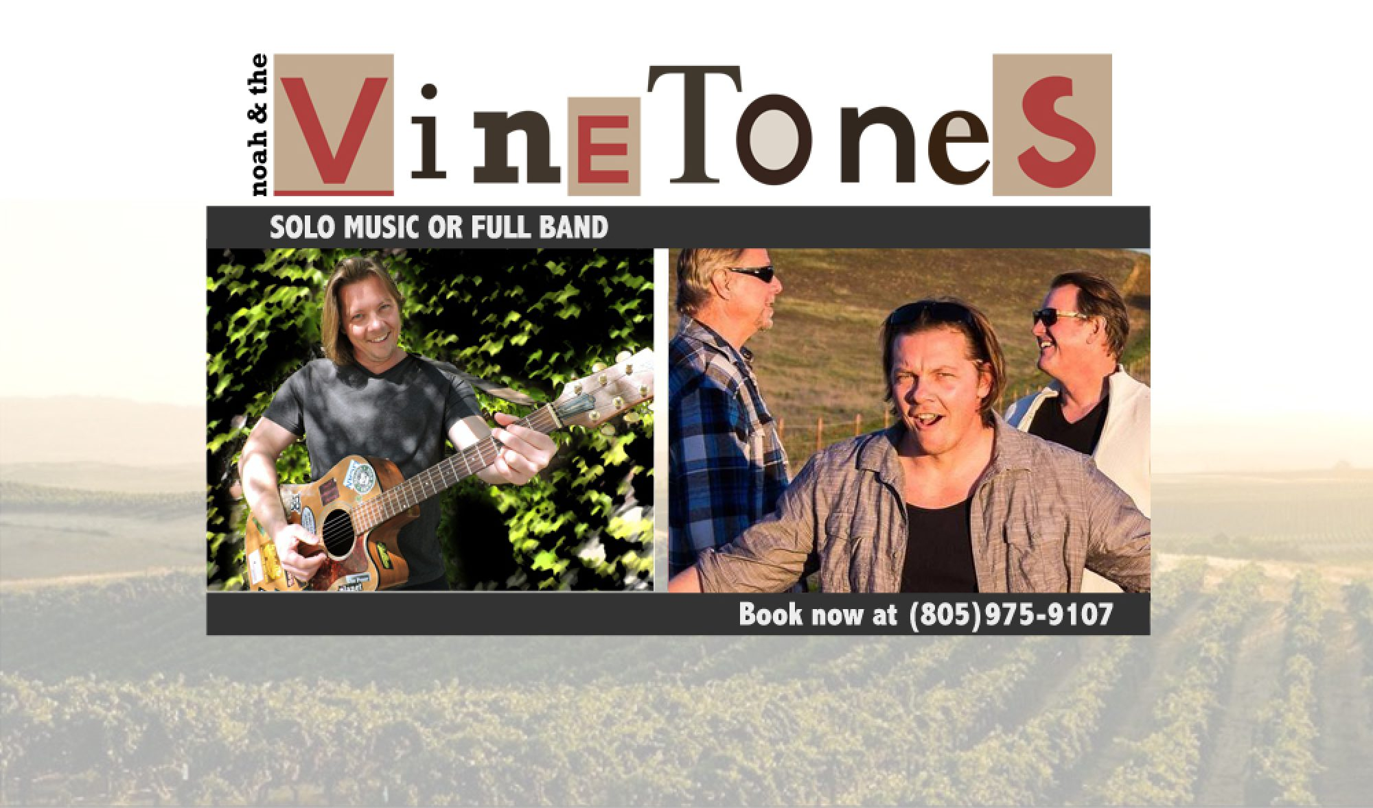 san luis obispo county band and music | noah and the vinetones